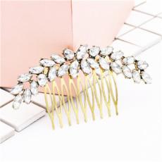 F-0498 Trendy  Rhinestone Hairpin Elegant Hair Ornament For Women Jewelry