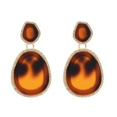 E-4821 Fashion Rhinestone Acylic Drop Earrings for Women
