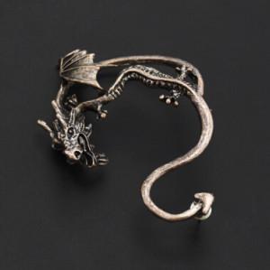 E-1203 E-1205 E-1204 4 Styles  Fashion Gothic Punk Silver Bronze  plated Cuff Clip Earings Unique stud Earrings Jewelry