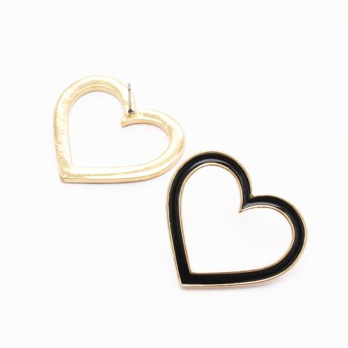 E-4839 Heart Love Stud Earrings Valentine's Day Present