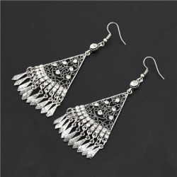 E-4837 Vintage Long Egypt Drop Dangle Earrings Pendant Earrings for Women