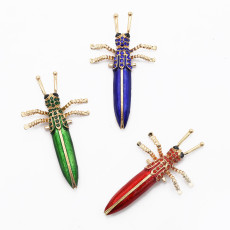 P-0417 Personality Animal Insect Brooch Coat Cardigan Pin