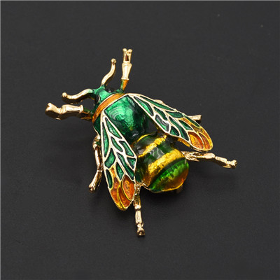P-0415 Personality Animal Insect Cicada Brooch Coat Cardigan Pin