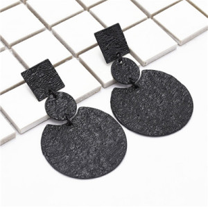 E-4857 5 Colors  Sheet Metal Drop Earring For Women Jewelry Design