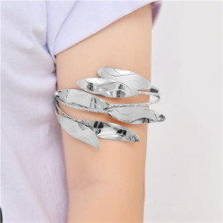 B-0915 2 Colors Trendy Alloy Multi-Storey Vane Arm Bracelet Jewelry Design