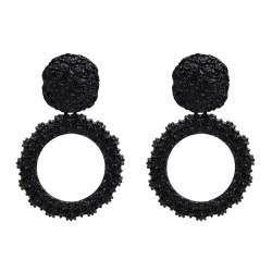 E-5004 Fashion Drop Earrings Geometric Round Stud Earring for Women