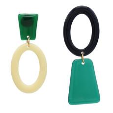 E-5152 Fashion Women Geometric Acrylic Drop Earring Wedding Party Jewelry Gift