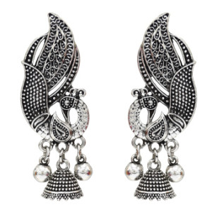 E-5160 Gypsy Vintage Gold Silver Metal Bird Shaped Drop Earrings for Women Wedding Boho Party Jewelry
