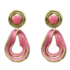 E-5194  Fashion Geometric Drop Earrings for Women Bridal Wedding Party Jewelry Gift