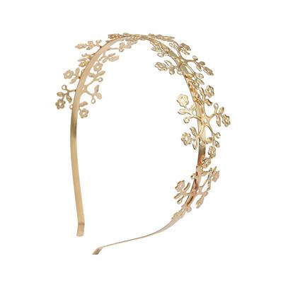 F-0613 Vintage Gold Leaf Hairbands Hair Ornament Headdress Girl Women Hair Jewelry Accessories