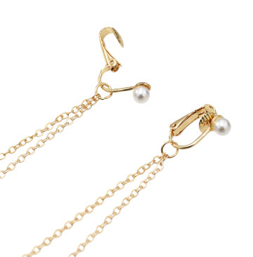 E-5215  3 Styles Chain One-Piece Long Earrings For Woman Jewelry Design