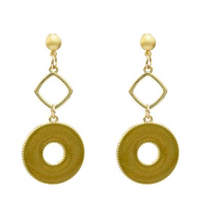 E-5212  4 Colors Fashion Acrylic Geometric Drop Earrings For Women