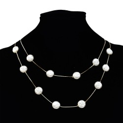 N-7202 Hot Imitated Pearl Fashion Choker Necklace Pendant for Women Party Jewelry
