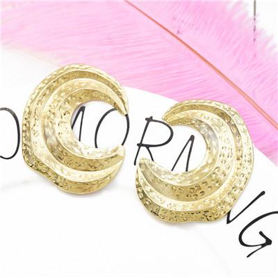 E-5245 Fashion Simple 2 Styles Silver Gold Alloy Drop Dangle Earrings For Women