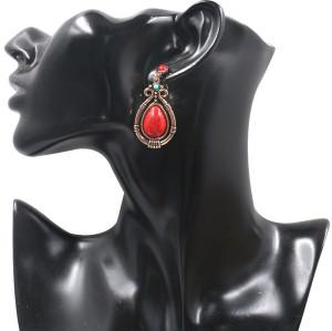 E-5322 Arriva Bohemian Dangle Drop Women shaped Turquoise Earrings for Women Jewelry