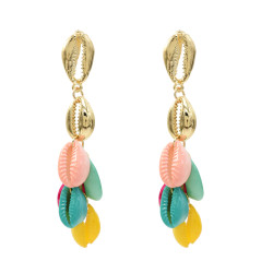 E-5340 Bohemia Earrings Sea Shell Beach Earrings Drop Dangle Earring for Woman Jewelry