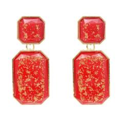 E-5351 New Trendy Geometric Acrylic Drop Earrings for Women Wedding Party Jewelry