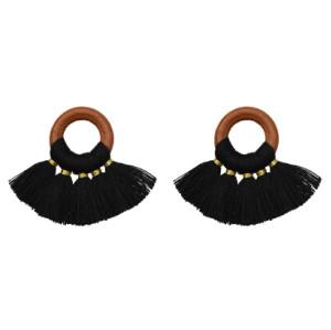 E-5376    10pcs/set Cotton Thread Mini Tassel DIY Boho Jewelry Making Supplies Earrings Finding Fringe Trim Pendants Small Tassels