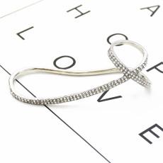 B-0978 Punk style bracelet shiny rhinestone bracelet hard hand back bracelet for women party jewelry gift