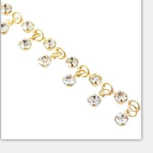 N-7255 Fashion European  Women Gold  Rhinestone Star Pendant Necklaces Summer  Party Jewelry