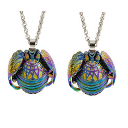 N-7285 Fashion Expanding Necklaces Locket Pendant Chain Necklace Family Put The Photo Frame Box