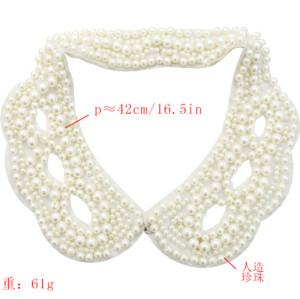 N-2058 Imitation Pearls Collar Women Choker Bib Statement Necklaces Fashion Accessories