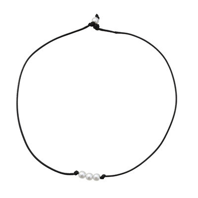 N-7294 N-7217 3 Styles Simple And Simple Pearl Shell Necklace Women's Temperament Jewelry