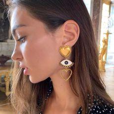 E-5492 Lovely Earrings Devil's Eye Halloween Christmas Party Jewelry for women gift