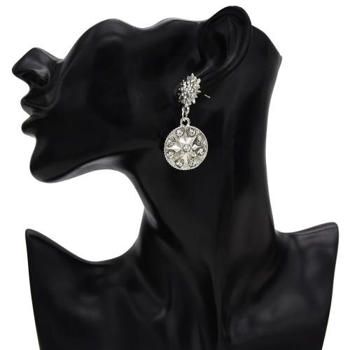 E-5509 Europe New Exaggeration Personality Alloy Stud Earrings Geometric Diamonds Round Glasses Stars Earrings Jewelry