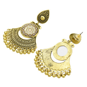 E-5517 Vintage Indian Drop Earrings Chandelier Earrings Gypsy Bell Fashion Jewelry