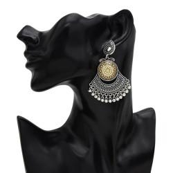 E-5517 Vintage Indian Drop Earrings Chandelier Earrings Gypsy Bell Fashion Jewelry
