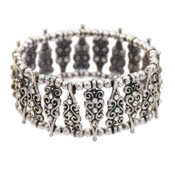 B-0997 Bohemian style alloy point diamond fashion bead bracelet female lady elegant delicate bracelet