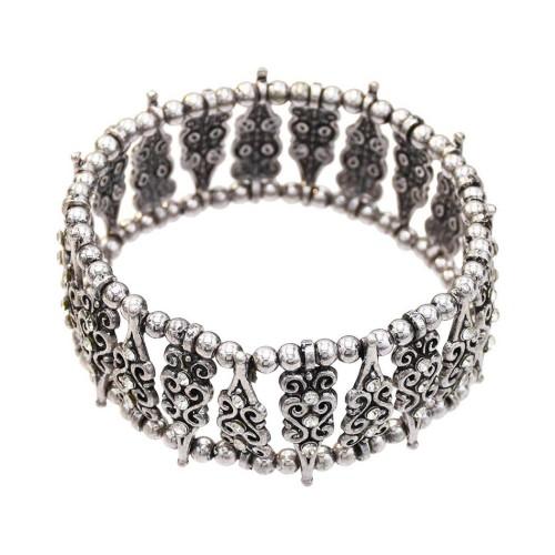 B-0997 Bohemian style alloy point diamond fashion bead bracelet female lady elegant delicate bracelet