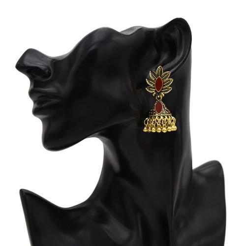 E-5581 New bohemian empty bell tassel long earrings dance wedding earrings wild fashion earring jewarly