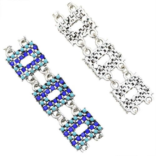 B-1002 Bohemia new alloy spot diamond delicate bracelet girls daily popular bracelets