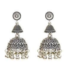 E-5586 Bohemia New Tassel Bell Dance Elegant Earrings Accessories