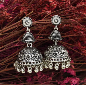 E-5586 Bohemia New Tassel Bell Dance Elegant Earrings Accessories