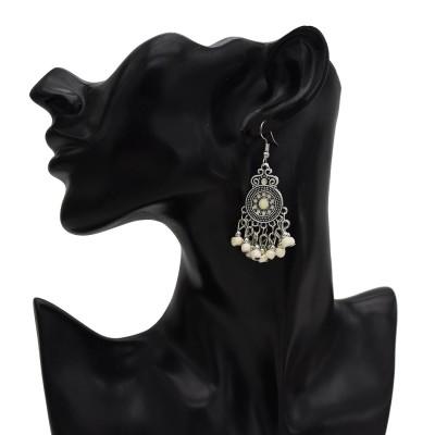 E-5605 Bohemian New Six Color Tassel Alloy Pop Ladies Fashion Earrings