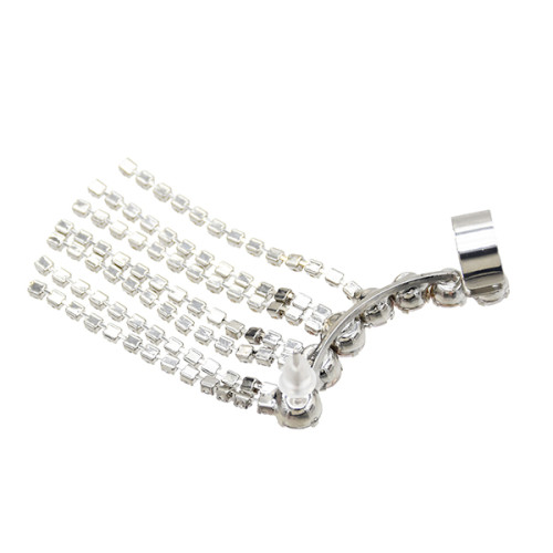 E-5604 Fashion Rhinestone Tassel Earrings Suitable For Women's Party Holiday Jewelry Gifts