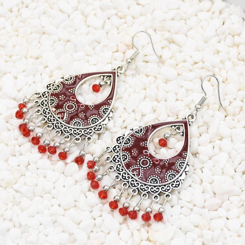 E-5606 Seven Color Small And Exquisite Simple Fashion Cute Tassel Earrings Suitable For Any Occasion