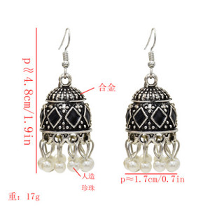 E-5621 4 Colors Indian Vintage Tassel Earring for Woman Party Earrings