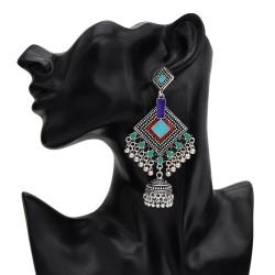 E-5626 European and American new diamond bell school small pearl ladies popular pendant