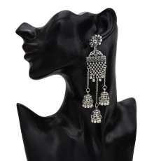 E-5636 Bomisia Style Long Fringed Simple And Elegant Fashion Earrings Suitable For Any Occasion Jewelry