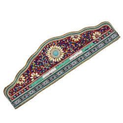 N-7179*New Bohemian retro ethnic style elastic adjustable belt Mizhu dance waist chain women