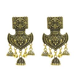 E-5265-G, E-5265-S, Bohemian Vintage  Pendant Earrings for Woman