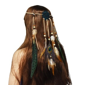 F-0617 New Bohemian Feather Hairwear Fashionable National Style Tourism Souvenir Hair Accessories