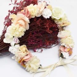 F-0607 * 2020 New Trendy Bridal Beautiful Flower Hairwear Ribbon Headwear For Woman Accessories