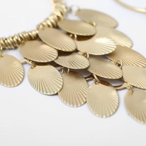 E-5673 New fashion pendants, personalized tassel earrings, European and American fashion pendants