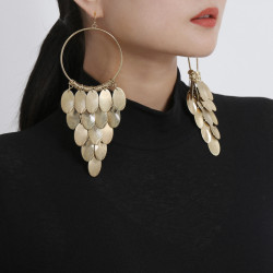 E-5673 New fashion pendants, personalized tassel earrings, European and American fashion pendants