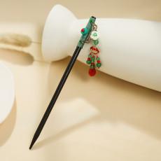 F-0750 Fashion Vintage Long life lock rose flower  Hair Sticks hairpin Jewelry